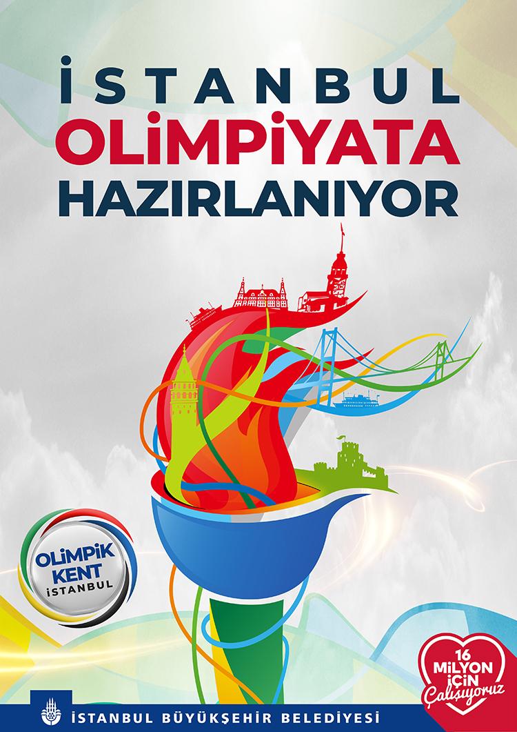 İstanbul Olimpiyata Hazırlanıyor